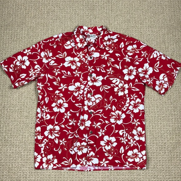 09fbd0ad03 Men's Hilo Hattie Hawaiian original button down XL